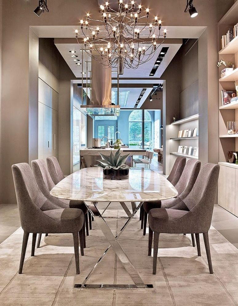 Elegant Dining Room Ideas (With images) | Luxury dining room ..