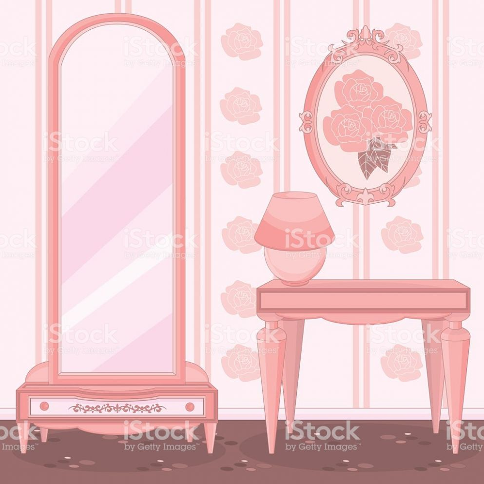 Elegant Dressing Room Stock Illustration - Download Image Now - iStock