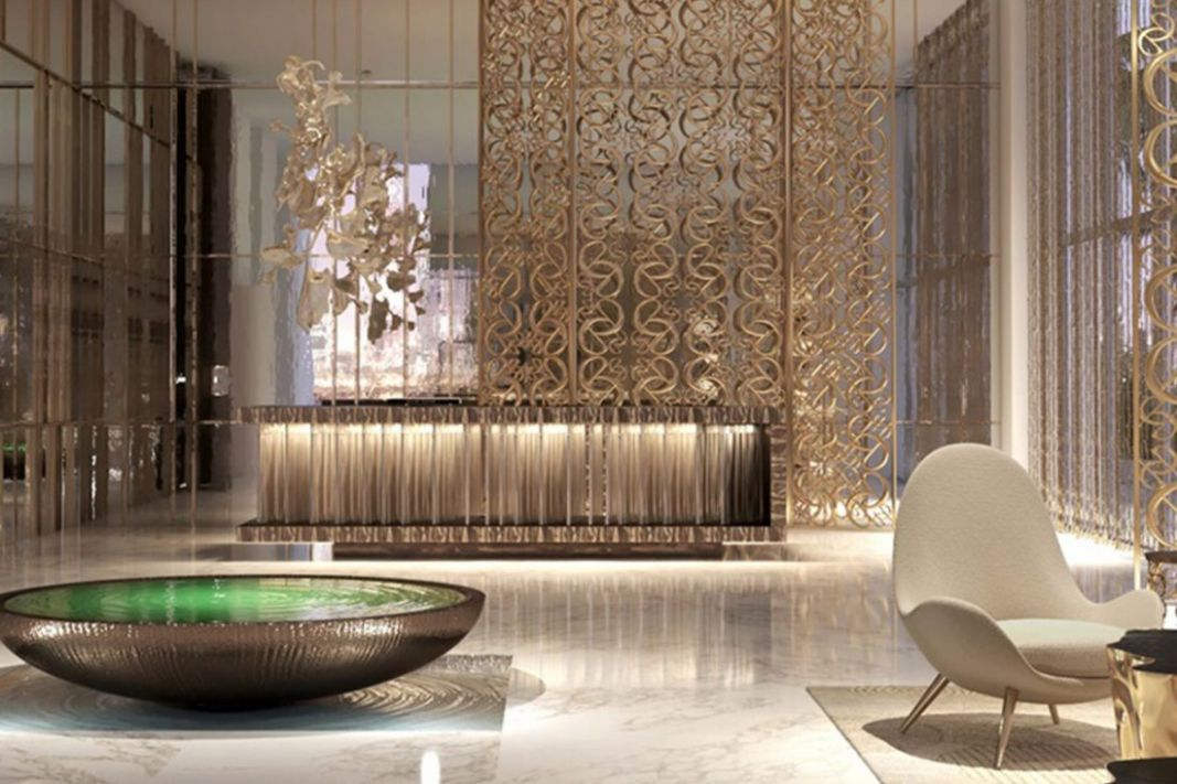 Elie Saab partners with Emaar to create designer Dubai apartments - apartment design luxury