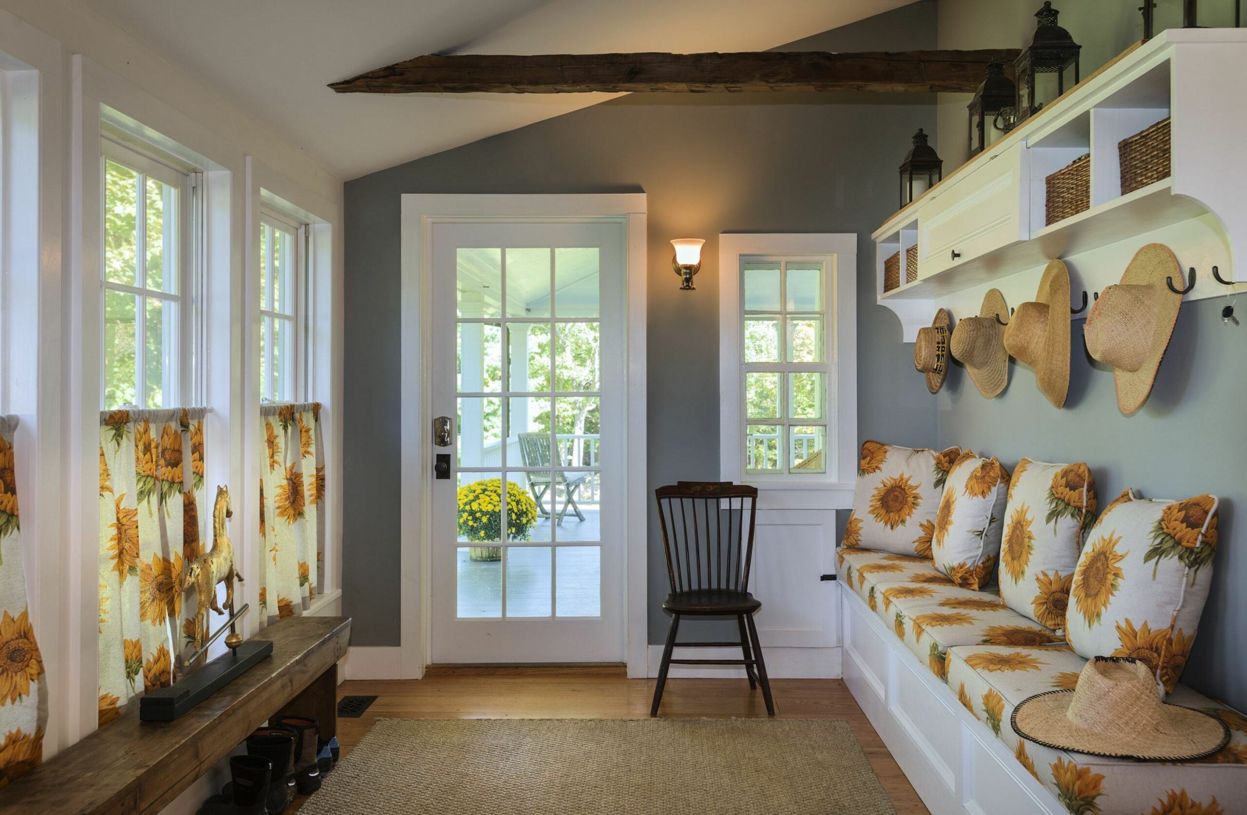 Enclosed Front Porch Mudroom Entry • Porches Ideas - front porch ideas enclosed