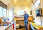 Engineering grad builds Tiny House with an elevator bed for just $11k