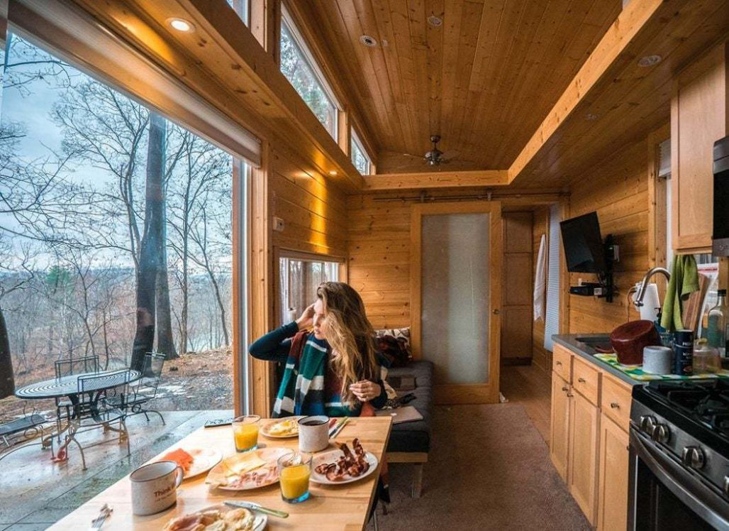 Escape to A Tiny House Resort Near Woodstock - Tiny House Blog - tiny house resort