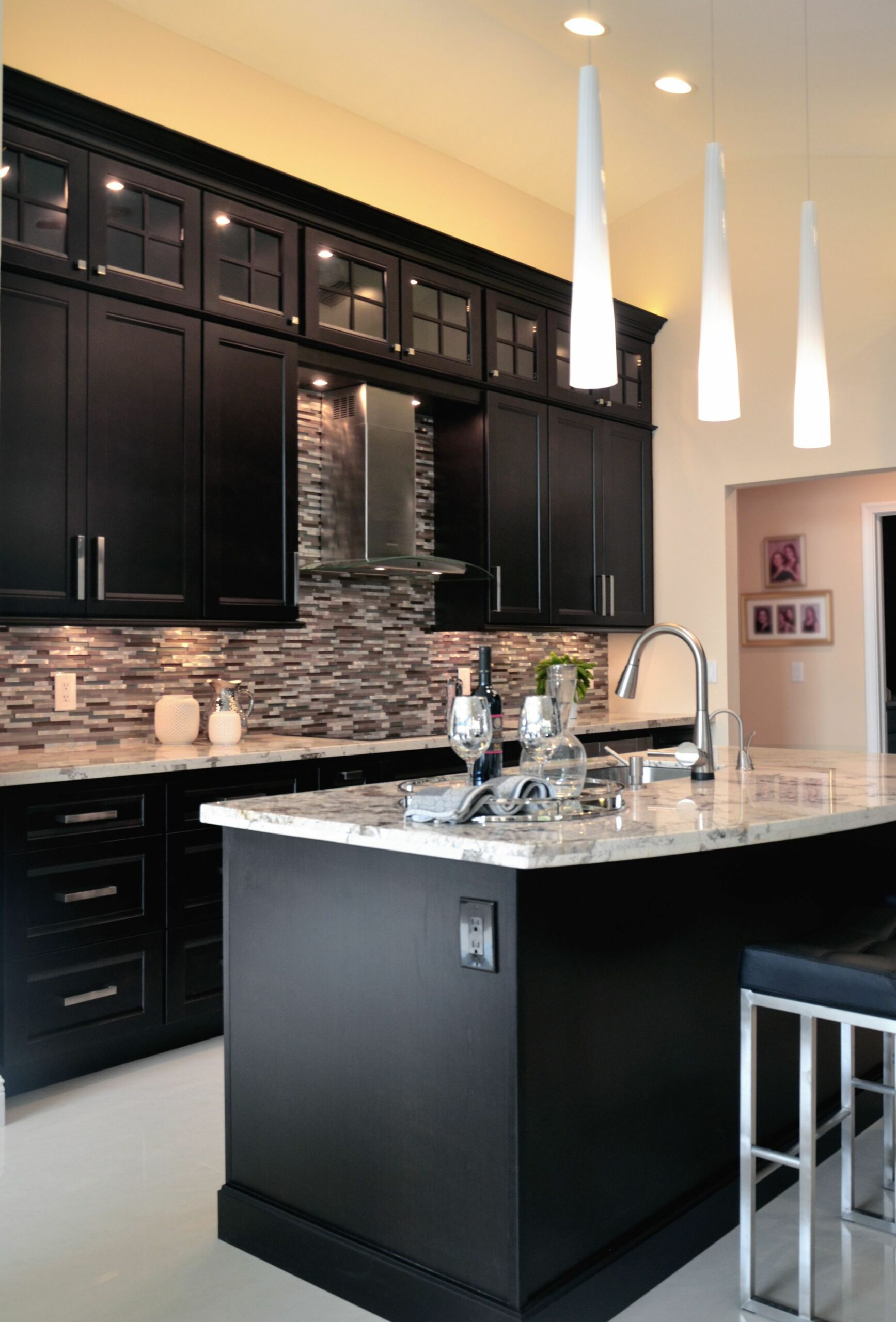 Espresso Cabinets by KabCo Kitchens #kabcoexperience | Home decor ...
