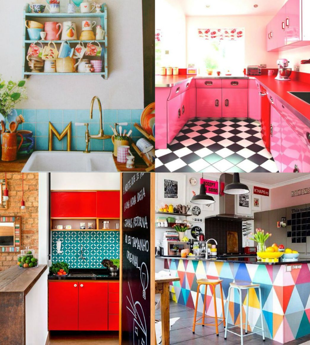 Ever So Juliet | Edinburgh lifestyle blog: COLOURFUL KITCHEN IDEAS - kitchen ideas quirky