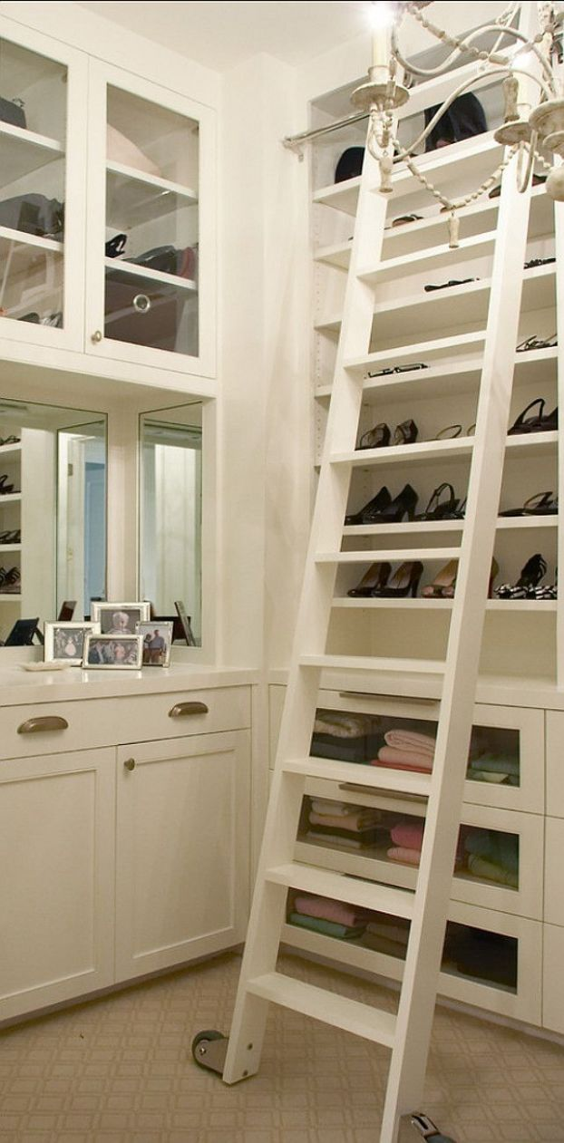 Every closet should have a library ladder... (With images ..