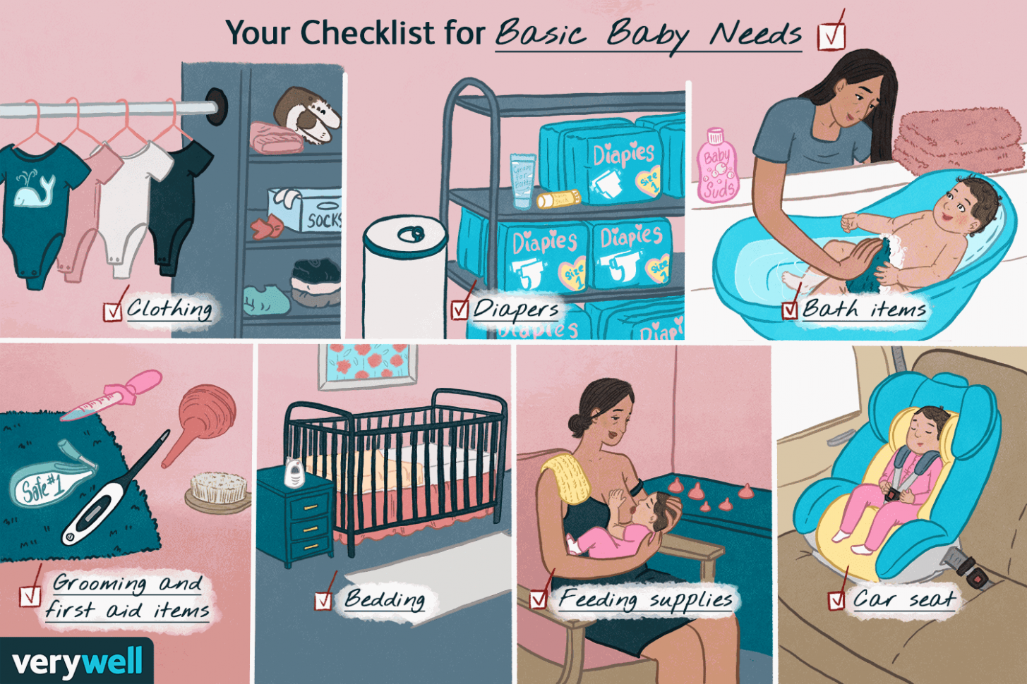 Everything You Need to Buy for Your Newborn Baby