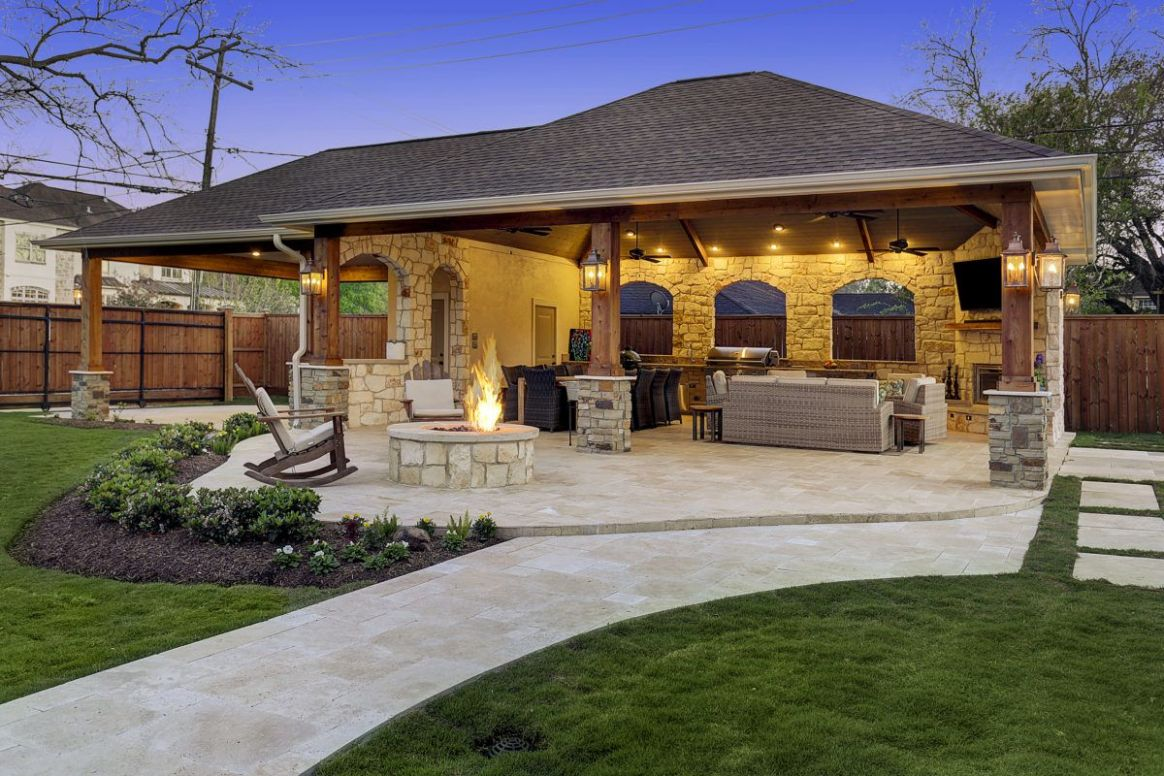 Expanded Outdoor Living Area in Houston (With images) | Outdoor ...