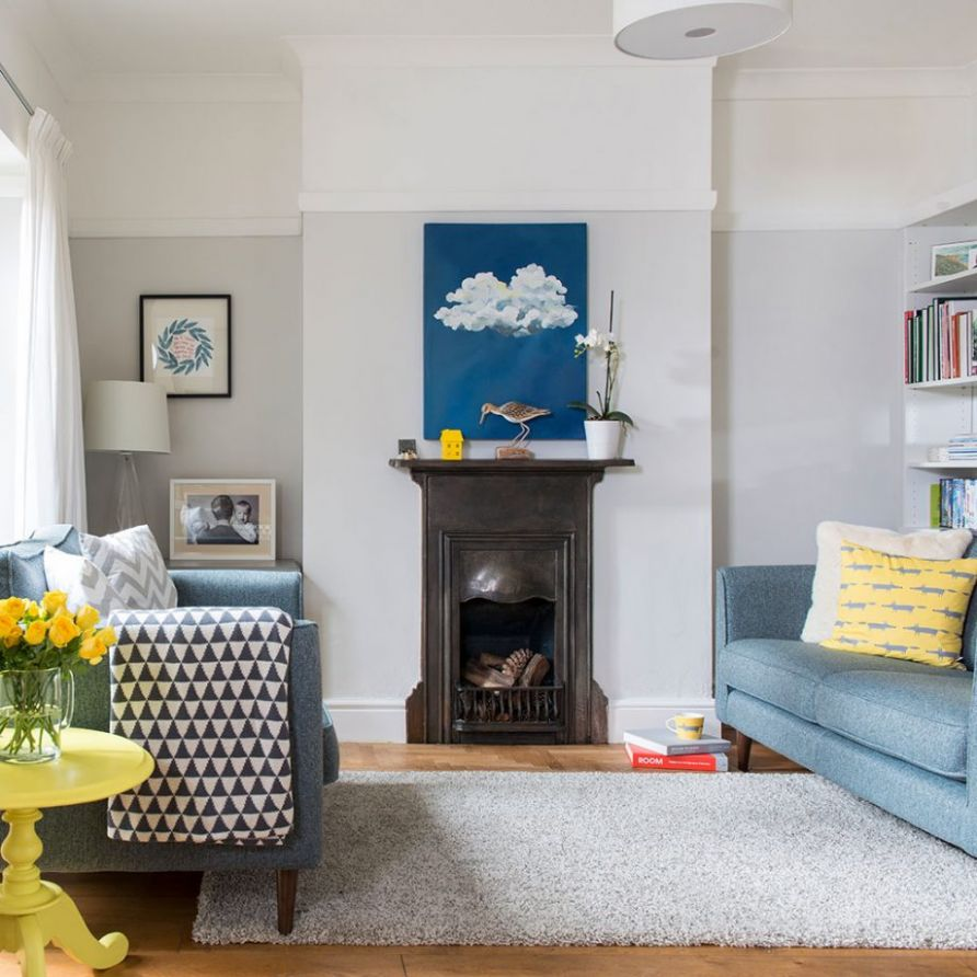 Explore this Edwardian house which is perfect for modern living - living room ideas edwardian house