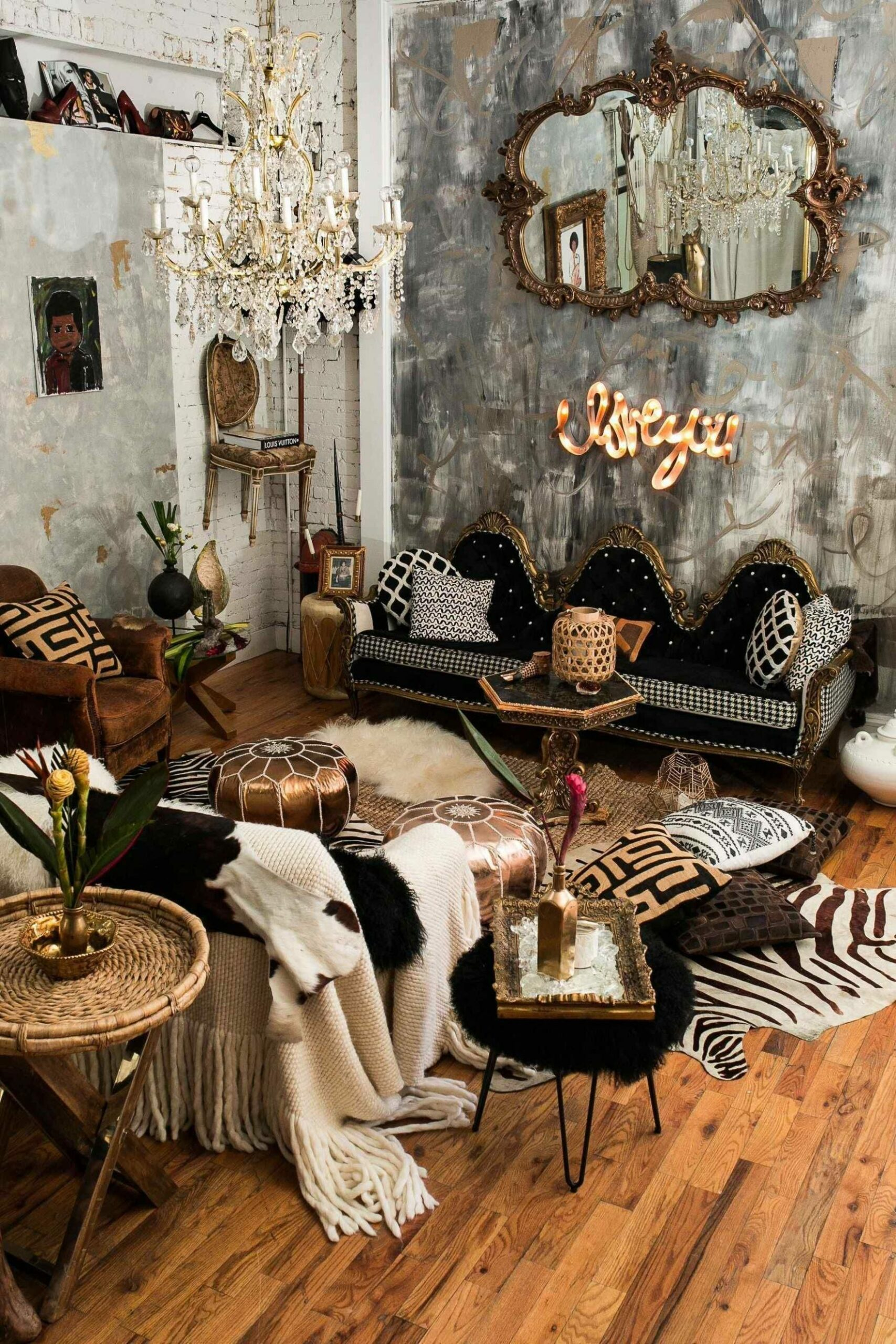 Express Your Individuality With Boho Home Decor | Maximalist decor ..