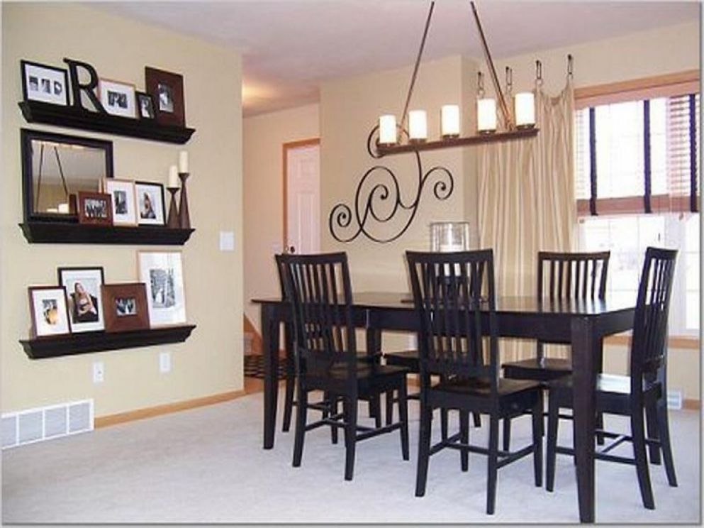 Fabulous Dining Room Wall Decorating Ideas Collage Decor Interior ...