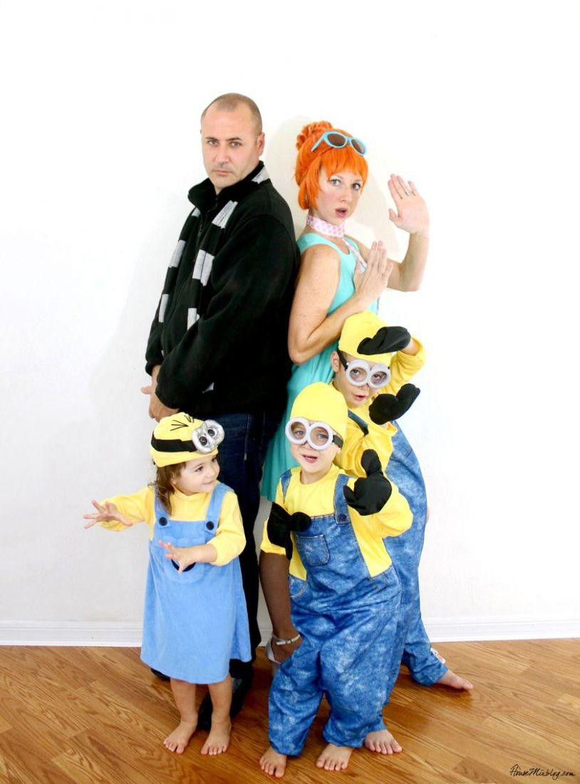 Family Halloween costume: Despicable Me (With images)   Family ..