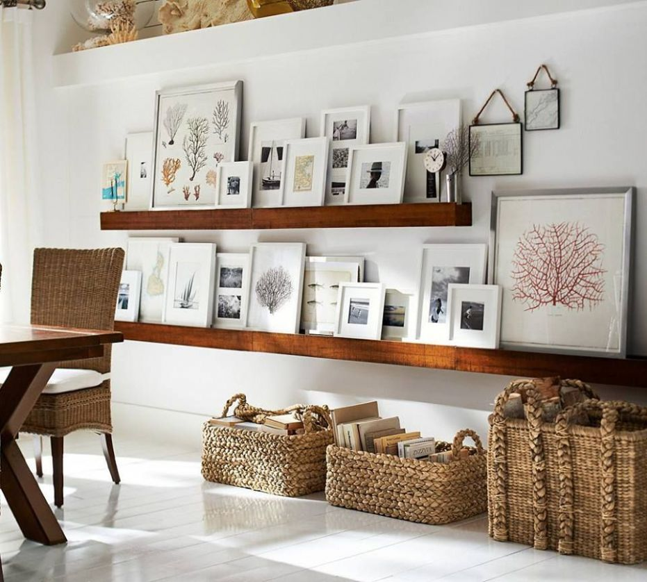 Family Room Wall Decor (With images) | Home decor, Decor, Galley wall