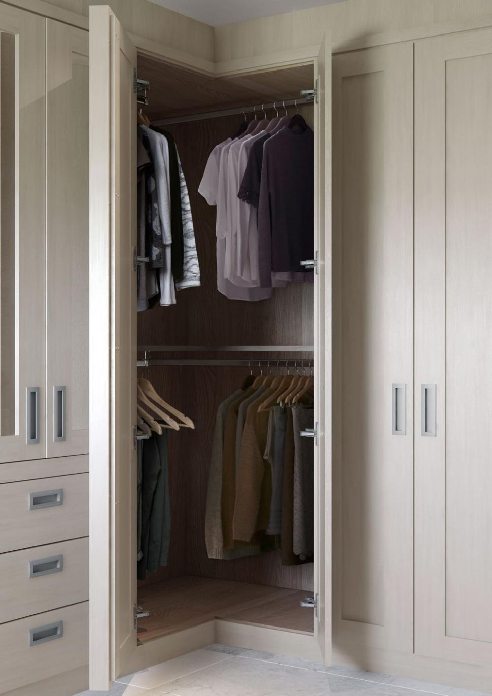 Fitted Corner Wardrobes, Built in Corner Wardrobe Ideas ..