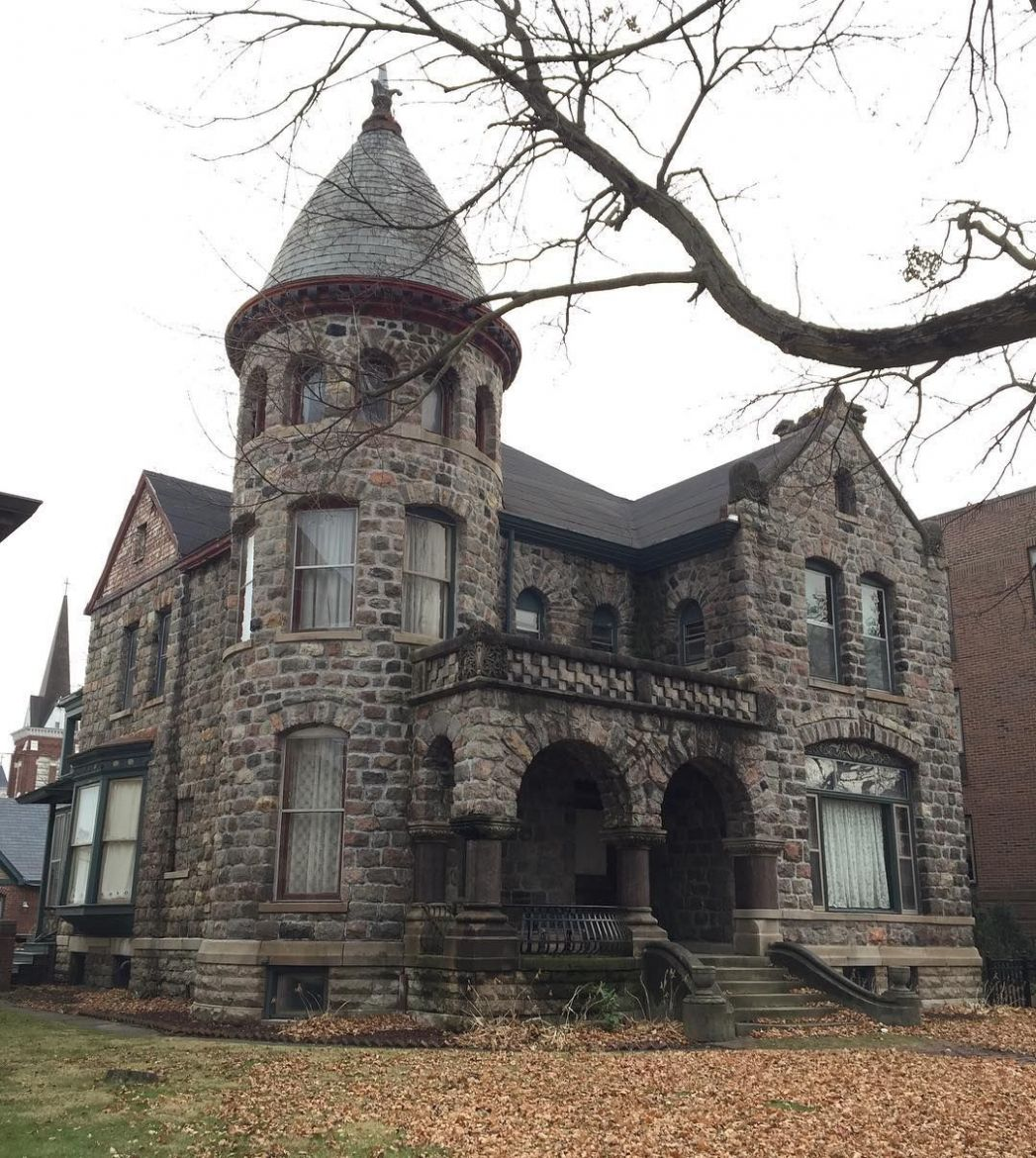 Fort Wayne (Indiana) (With images) | Gothic house, Old stone houses