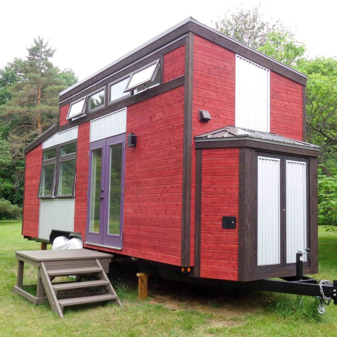 Four season Canadiana! - Tiny House for Sale in Montreal, Quebec - Tiny  House Listings