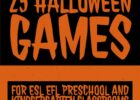 Free classroom halloween games and activities for children.