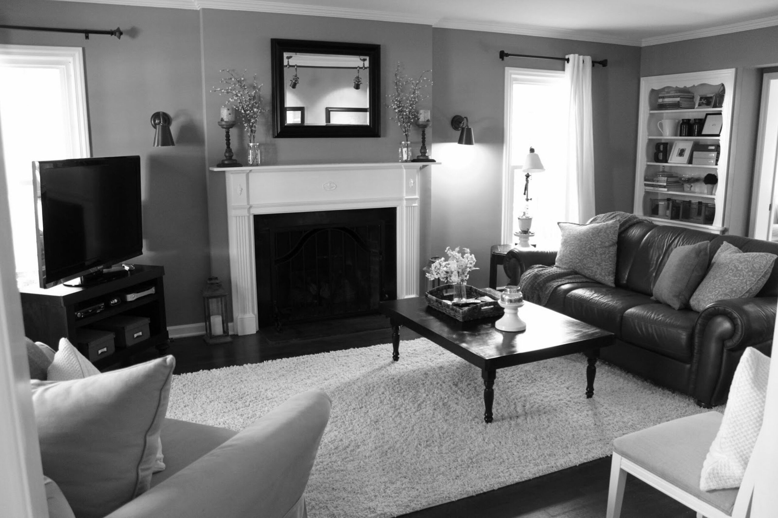 Fresh Grey Living Room Ideas Color Schemes Colors Layout And Decor ...
