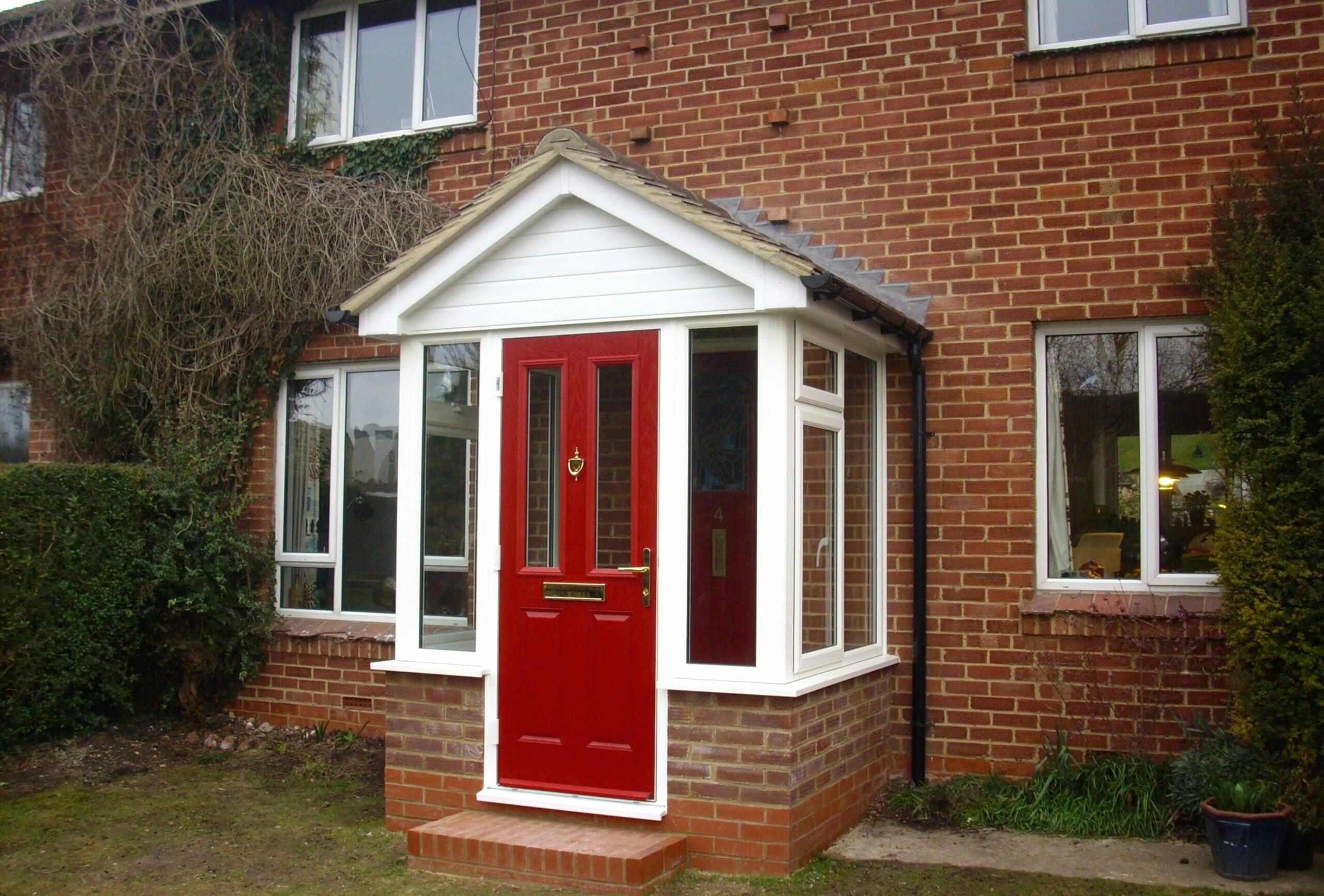 Front Door Porch Designs House Ideas Small Uk Brick Oak Stone With ..