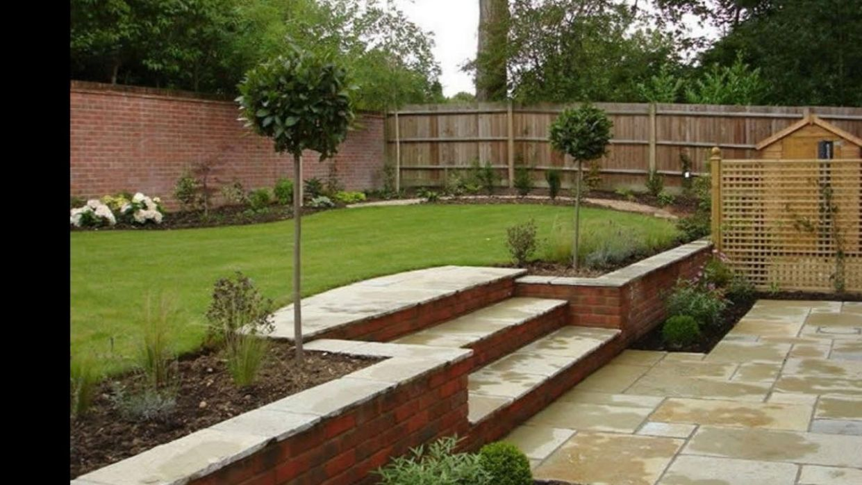 Front Garden Design On A Slope I Small Sloped Front yard Landscaping Ideas - backyard ideas on a slope