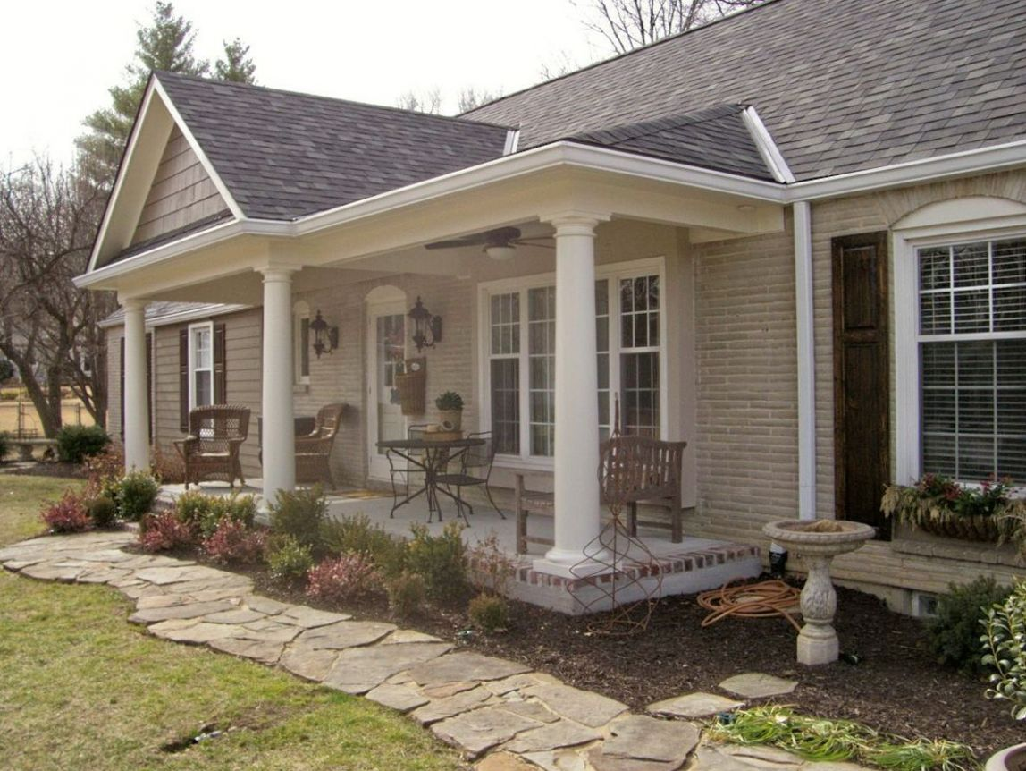 front-porch-addition-ranch-house.jpg (9×9) | Ranch house ..