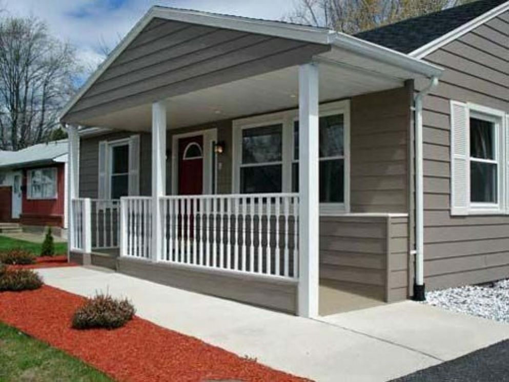Front Porch Additions Ranch Style Home Basic On House Ideas ..