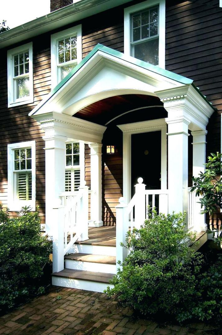 Front Porch Awning Door Ideas Awnings Wood Metal Copper Home ..