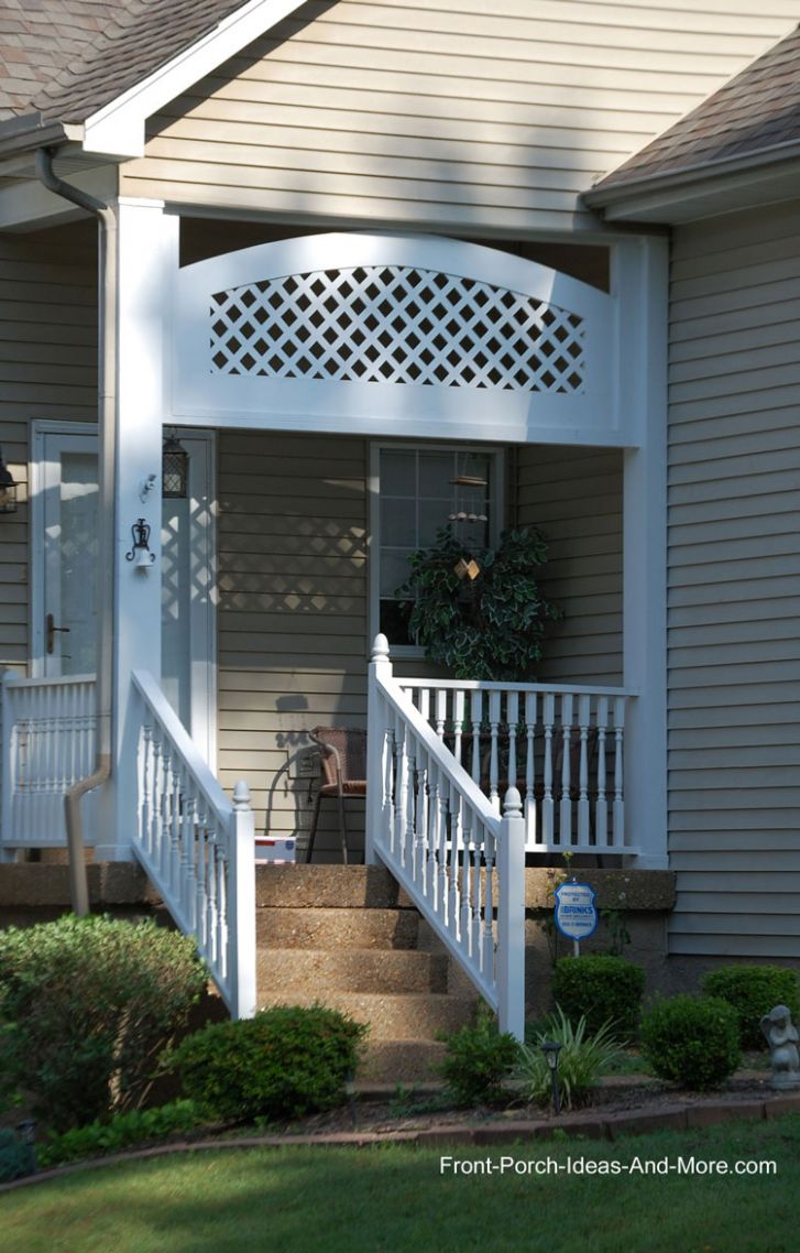 Front Porch Designs And Ideas To Jazz Your Home Lattice Panel ...