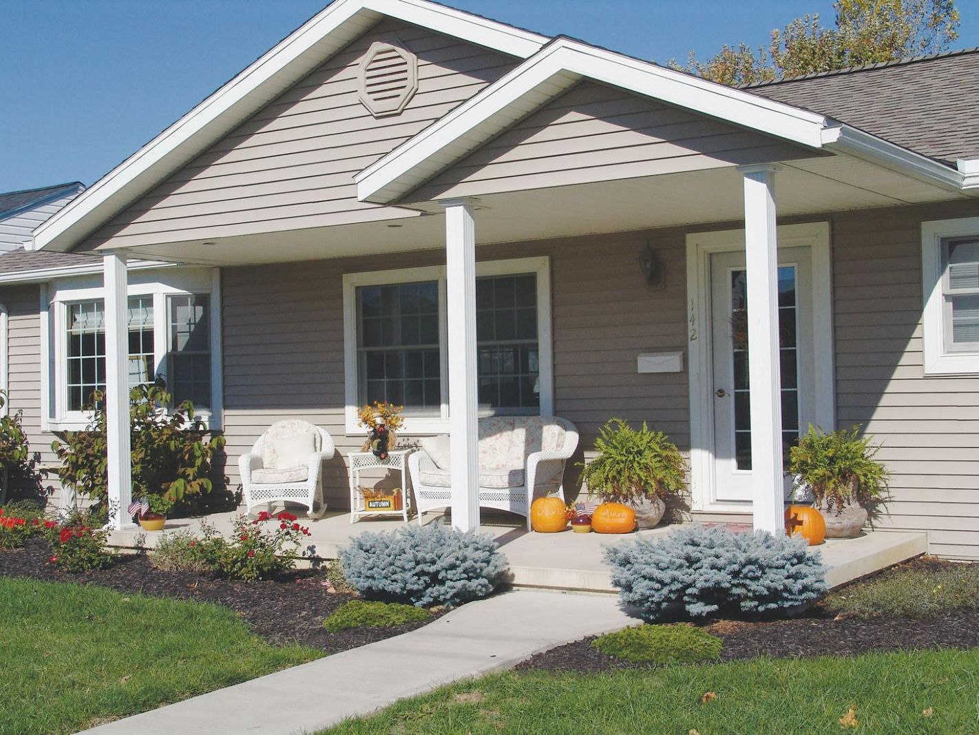 Front Porch Designs for Ranch Homes — Home Inspirations : Great ...