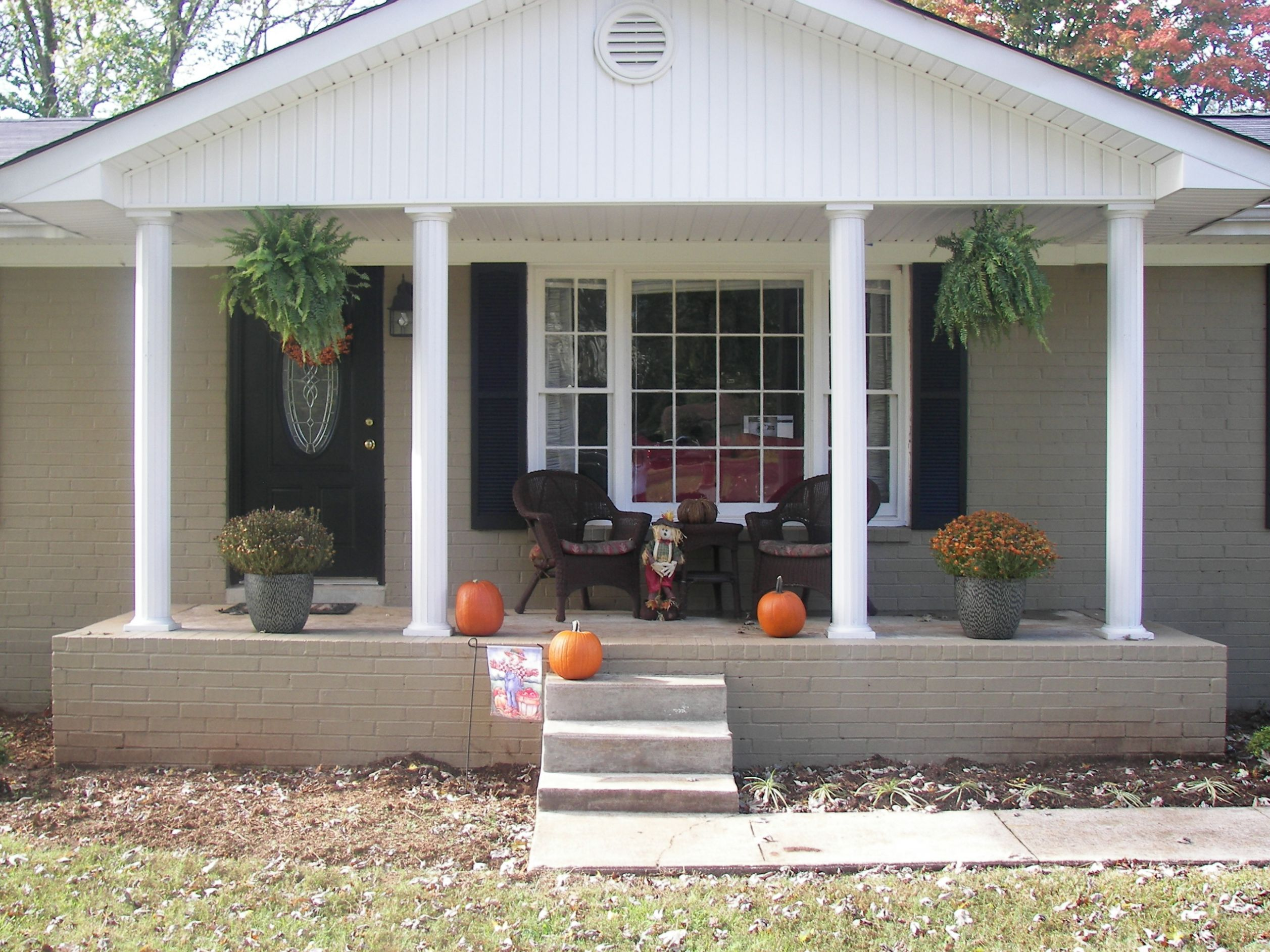 Front Porch Designs For Ranch Style Homes Aloin Info Fall Door ..