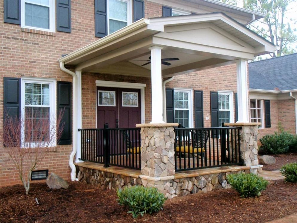 Front Porch Ideas Add More Aesthetic Appeal Your - House Plans ..