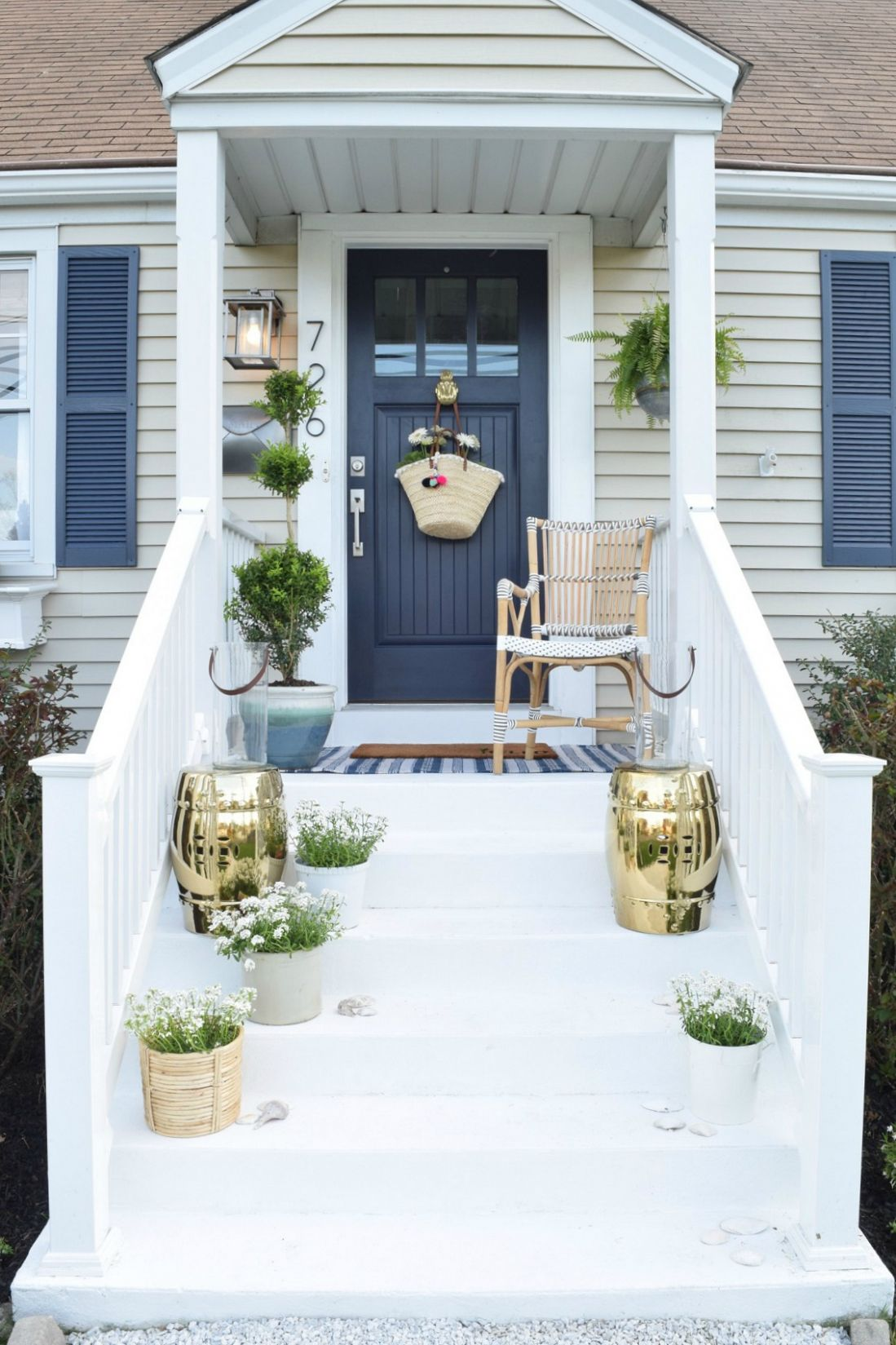 Front Porch Ideas and Designing the Outdoors - Nesting With Grace - front porch designs pictures