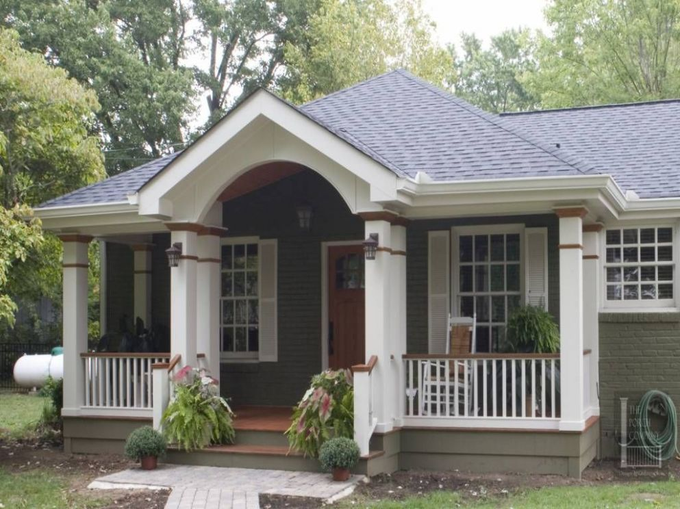 Front Porch Ideas for Colonial Homes Awesome to Ranch Style Home ..