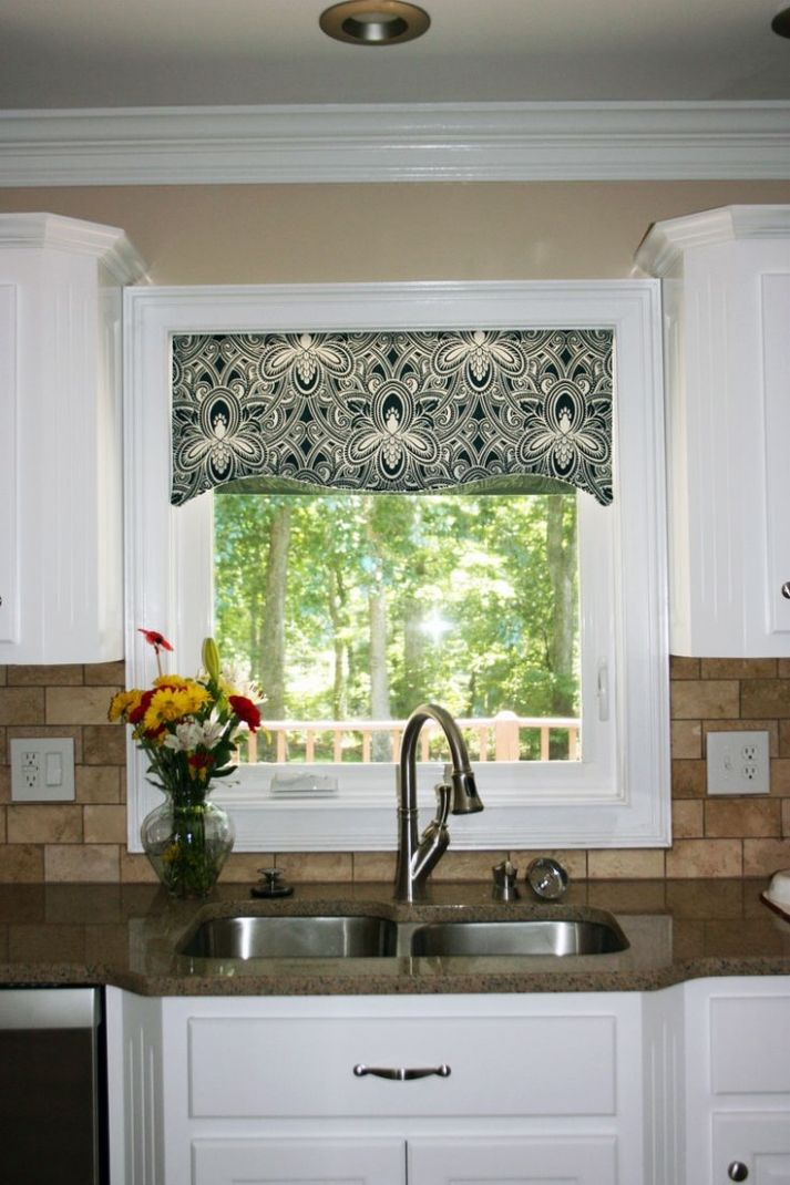 Functional and Decorative Kitchen Valances for Windows | Ann Inspired - kitchen valance ideas
