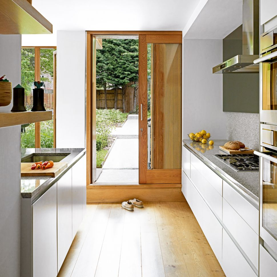 Galley kitchen ideas that work for rooms of all sizes – Galley ...