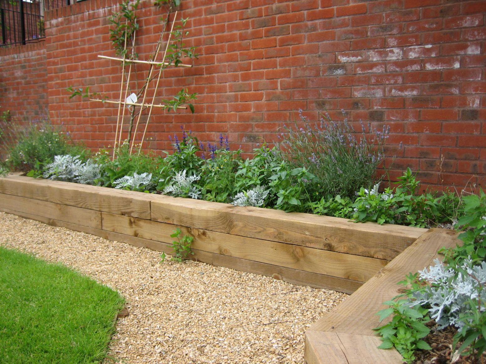 Garden Borders Archives - Good Gardening - garden ideas raised borders