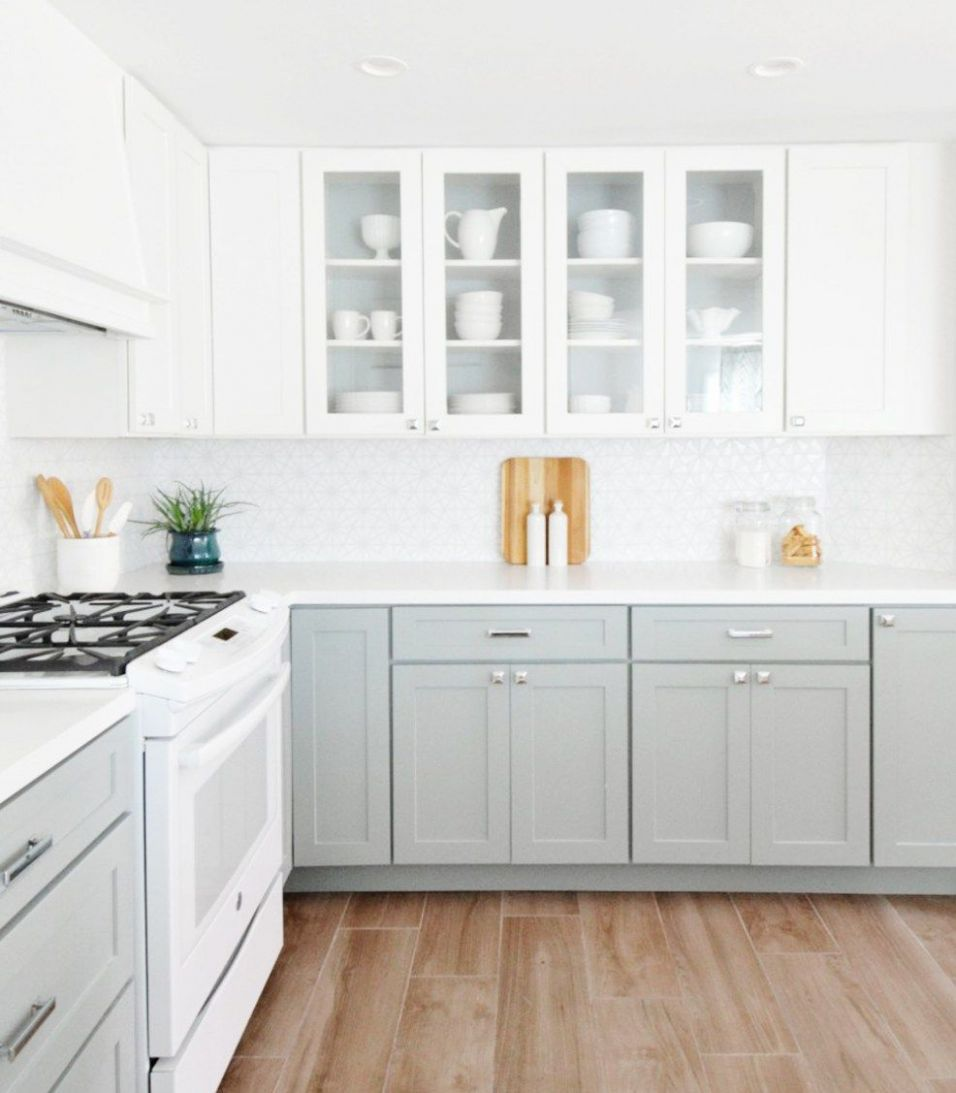 GET THE LOOK: THE TWO TONE KITCHEN (With images) | Diy kitchen ..
