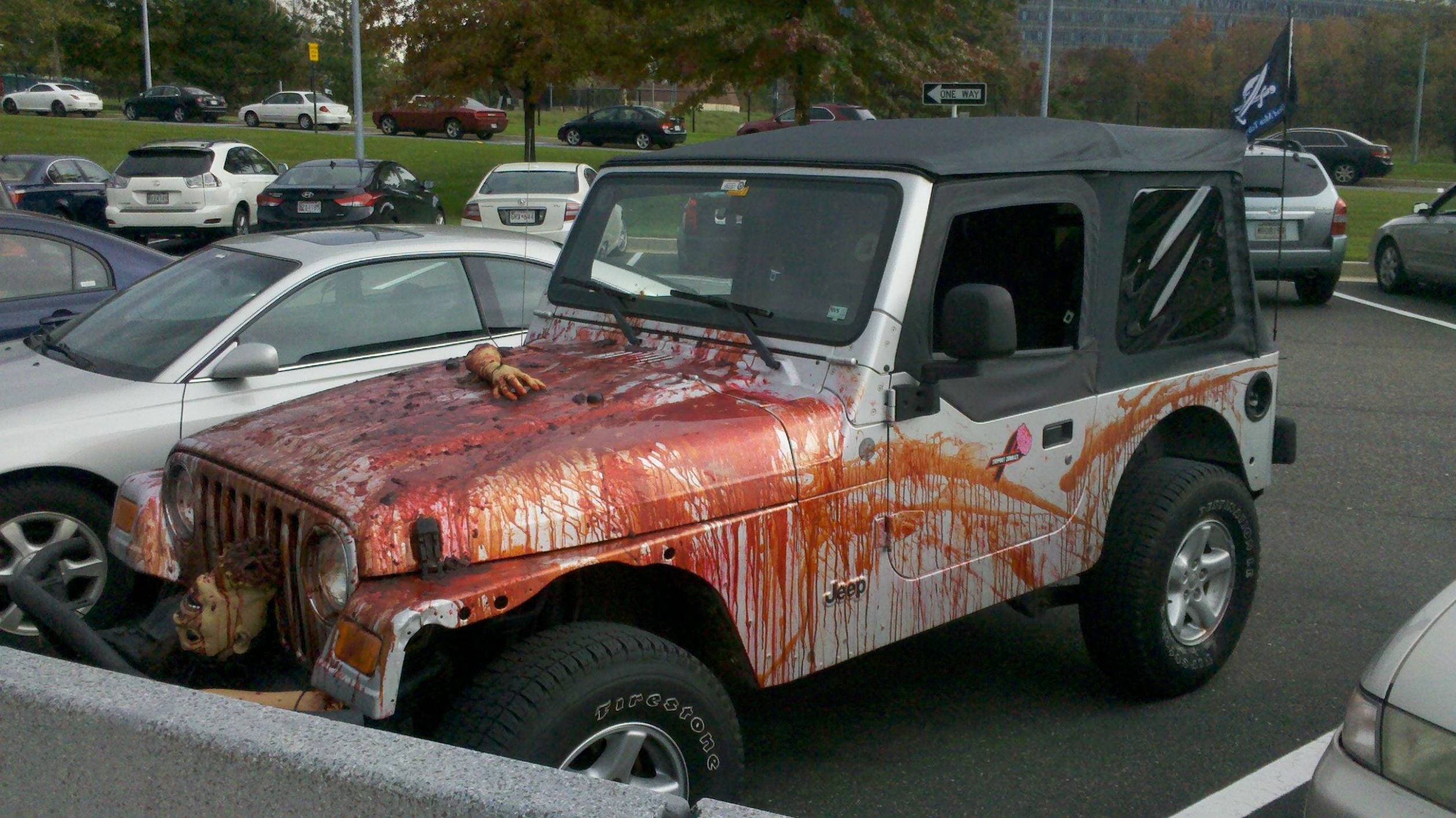 Getting into the Halloween Spirit | Jeep Wrangler Forum - halloween jeep ideas