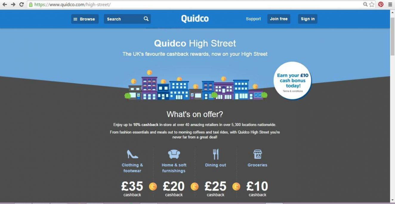 Getting Our Cashback On With Quidco High Street - The DADventurer ..