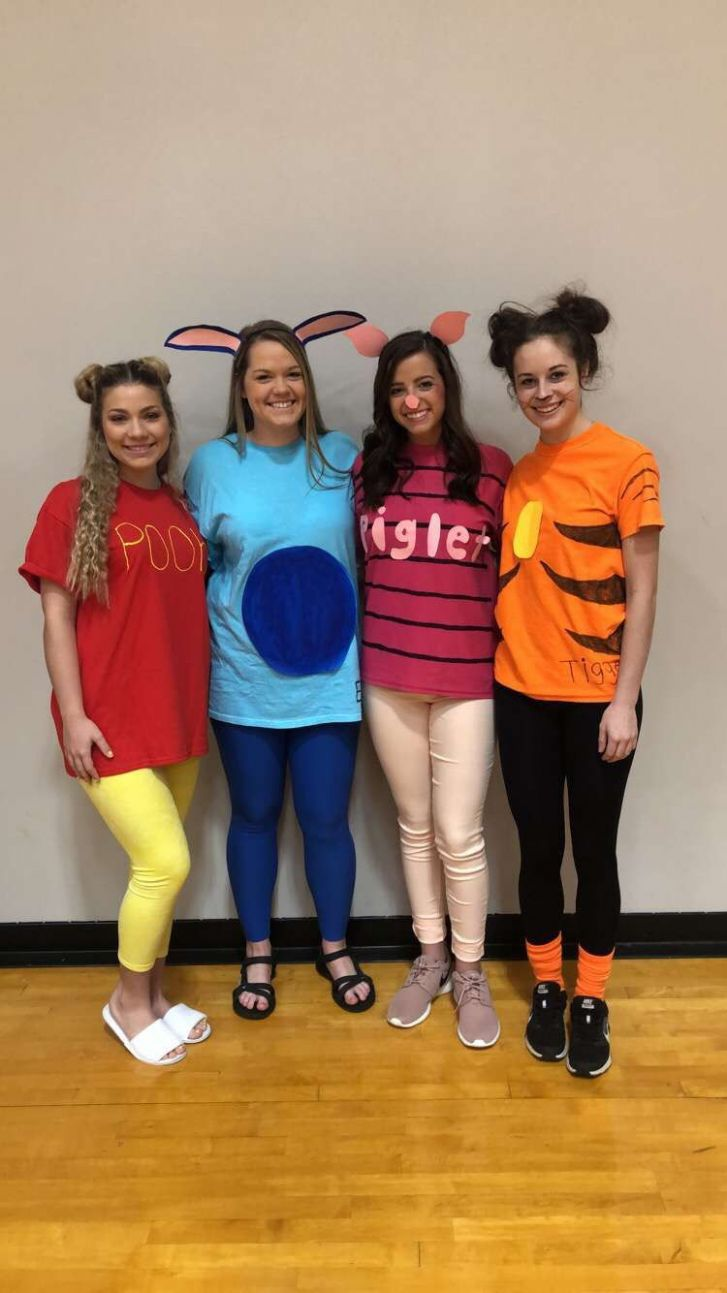girl group costumes for four (With images) | Girl group halloween ...
