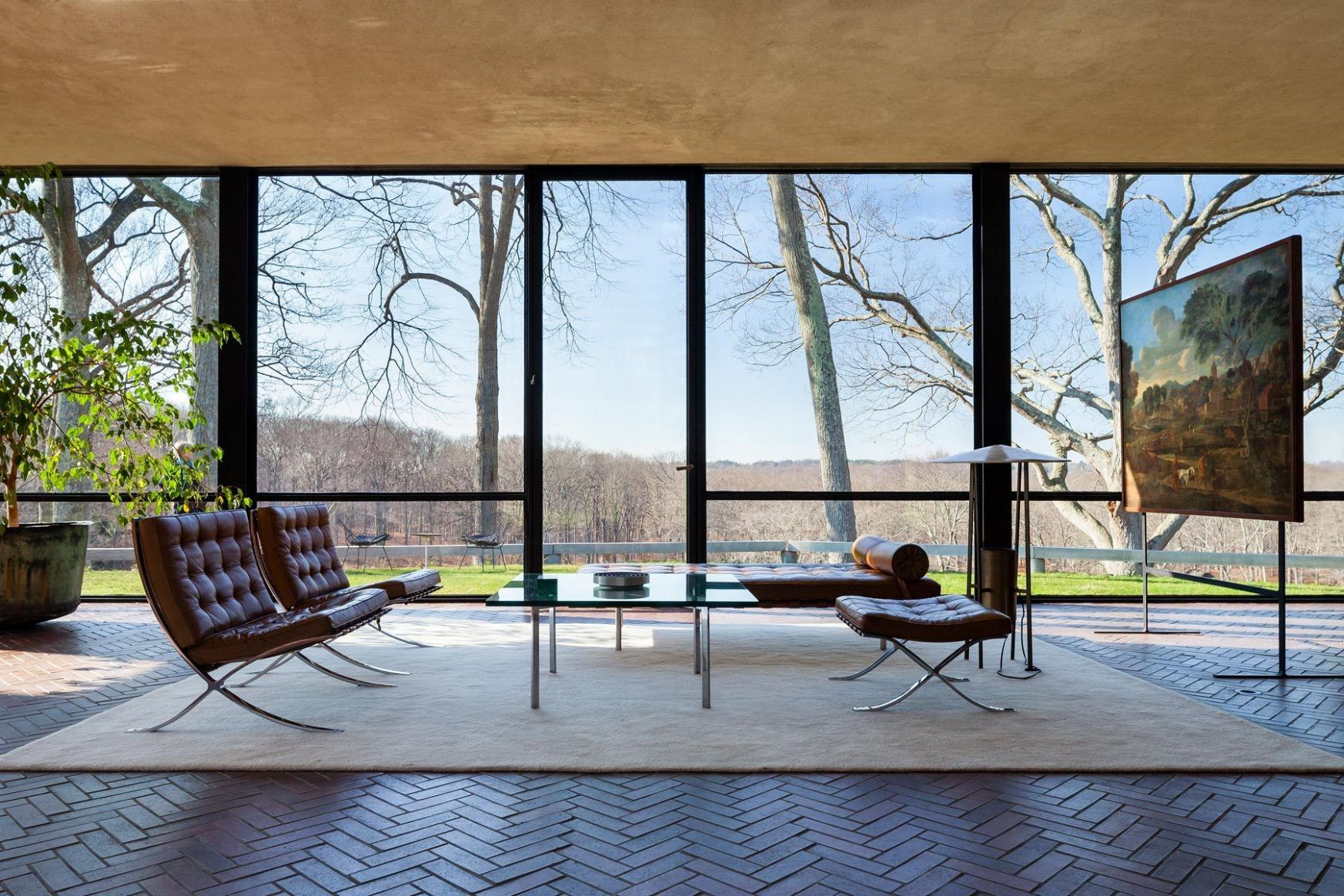 glass house 11 (With images) | Philip johnson glass house, Glass ..