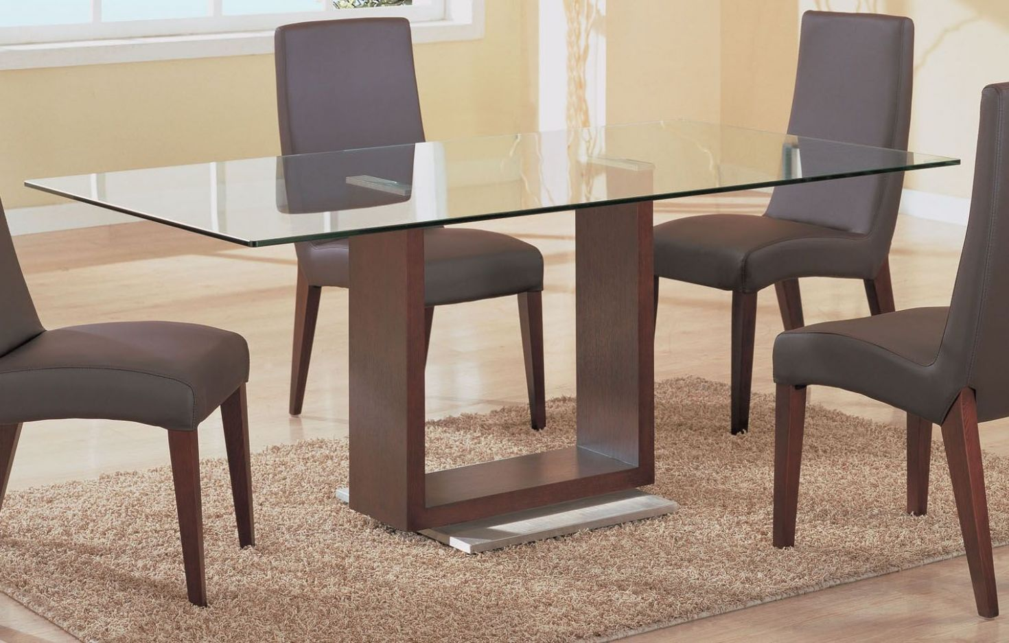 Glass top for dining table full size of interior:alluring glass ...