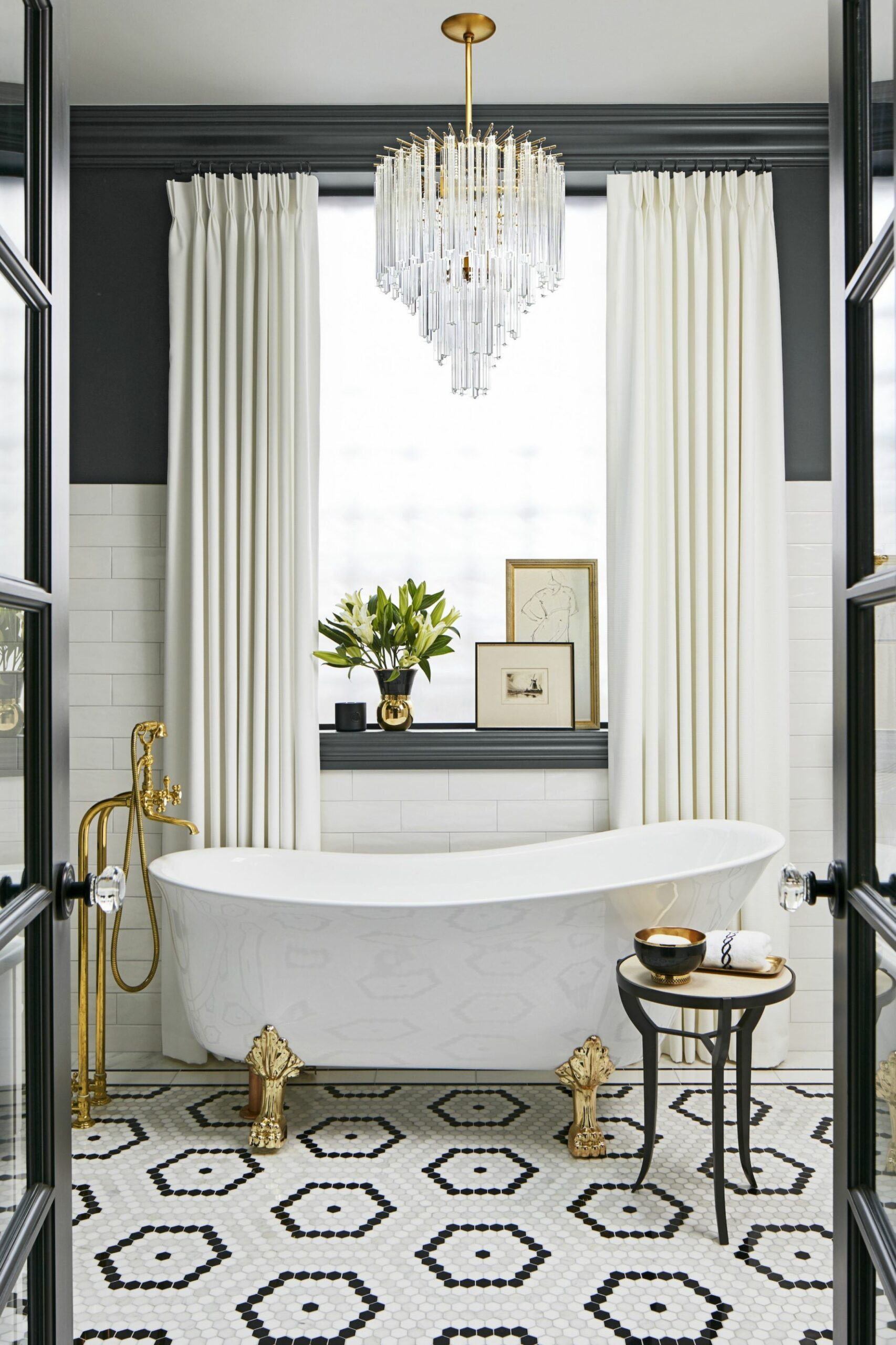 Gold Bathroom Decor Etsy White And Home Decorations Style Brown ...