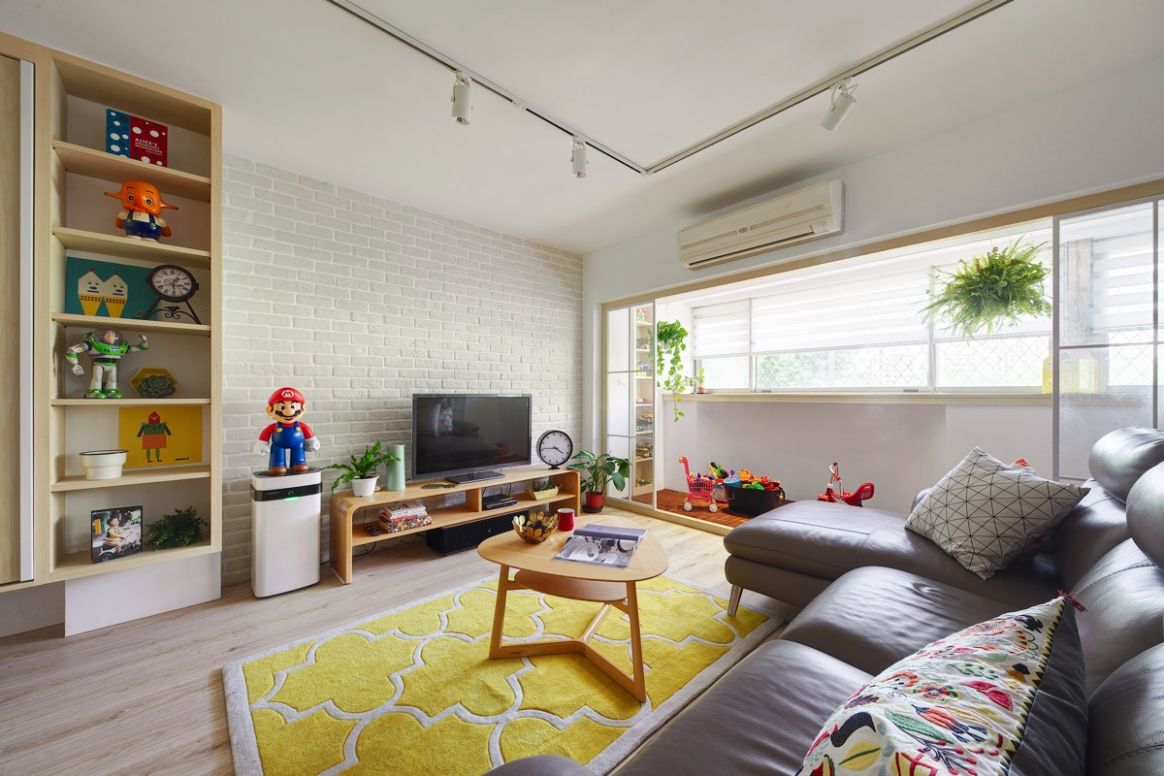 Gorgeous Colorful Remodels Of Two Taiwanese Houses Under 11 ...