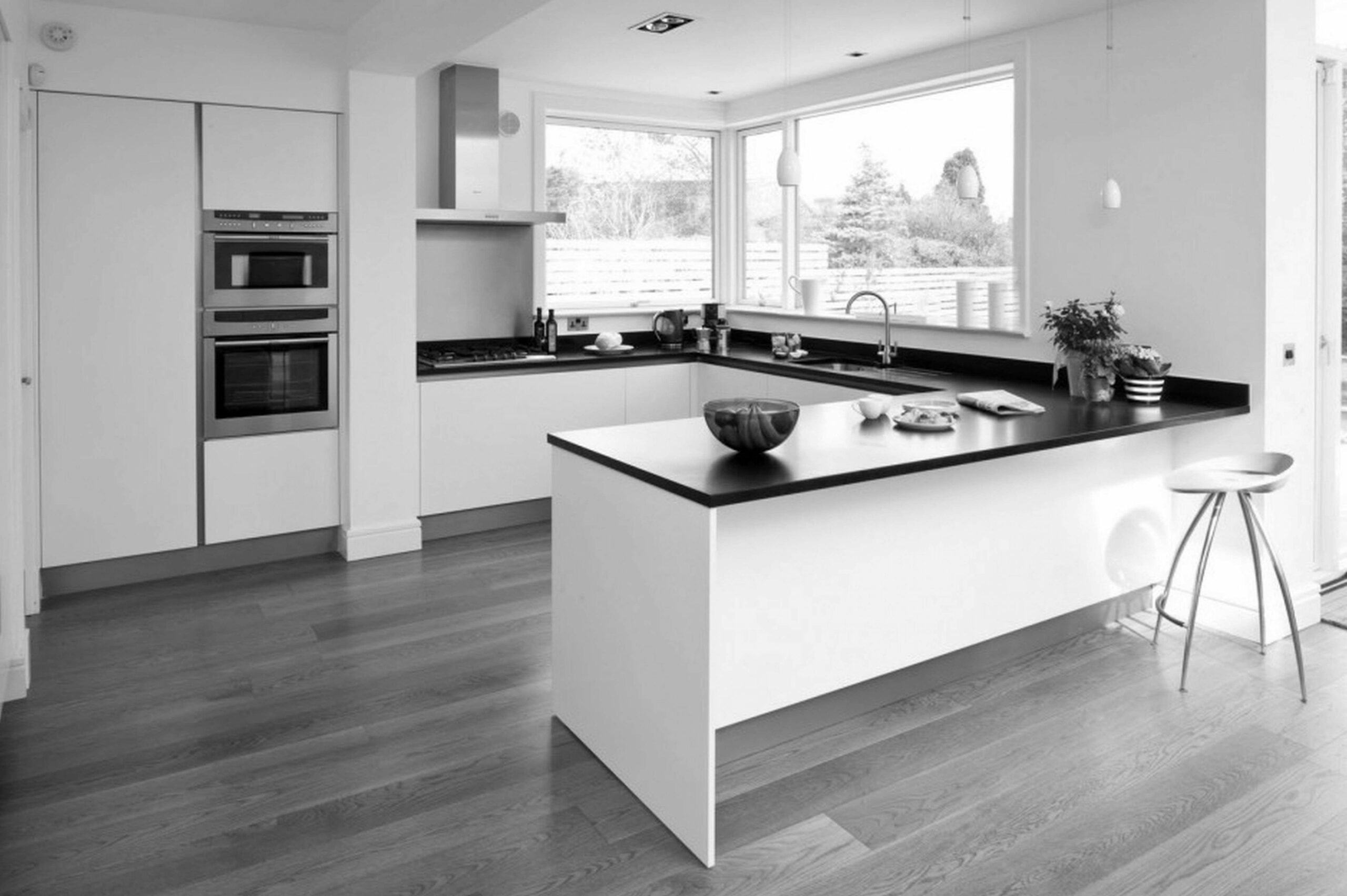 Gray And White Kitchen Ideas Black Images Grey Decorating Light ..