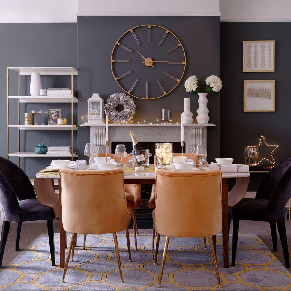 gray trend | Home Design Ideas - dining room ideas in grey