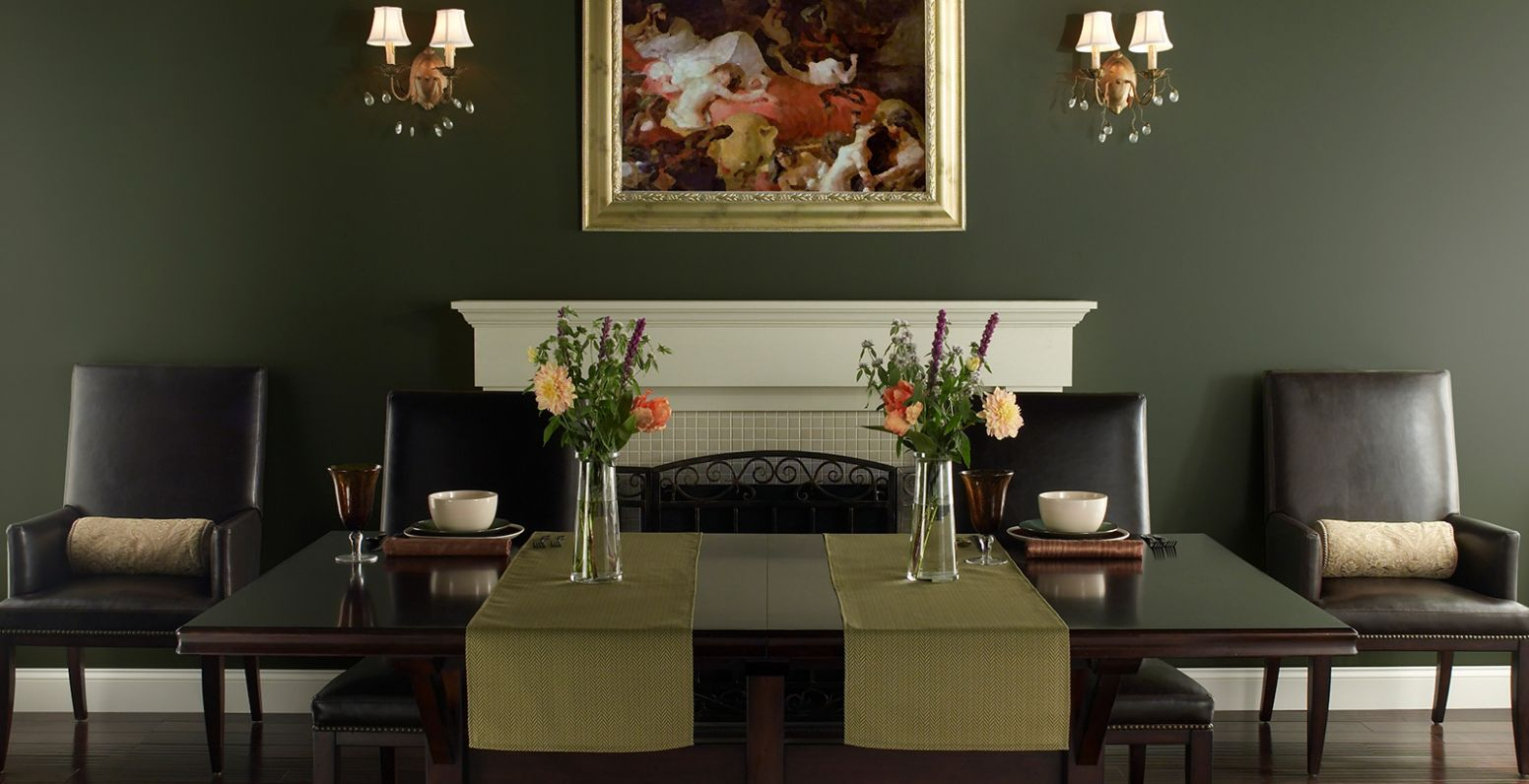Green Dining Room Ideas and Inspiration | Behr Canada