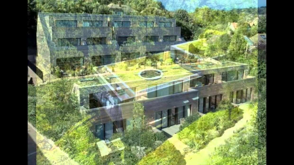 Green Eco House Design Inspiration - eco house inspiration
