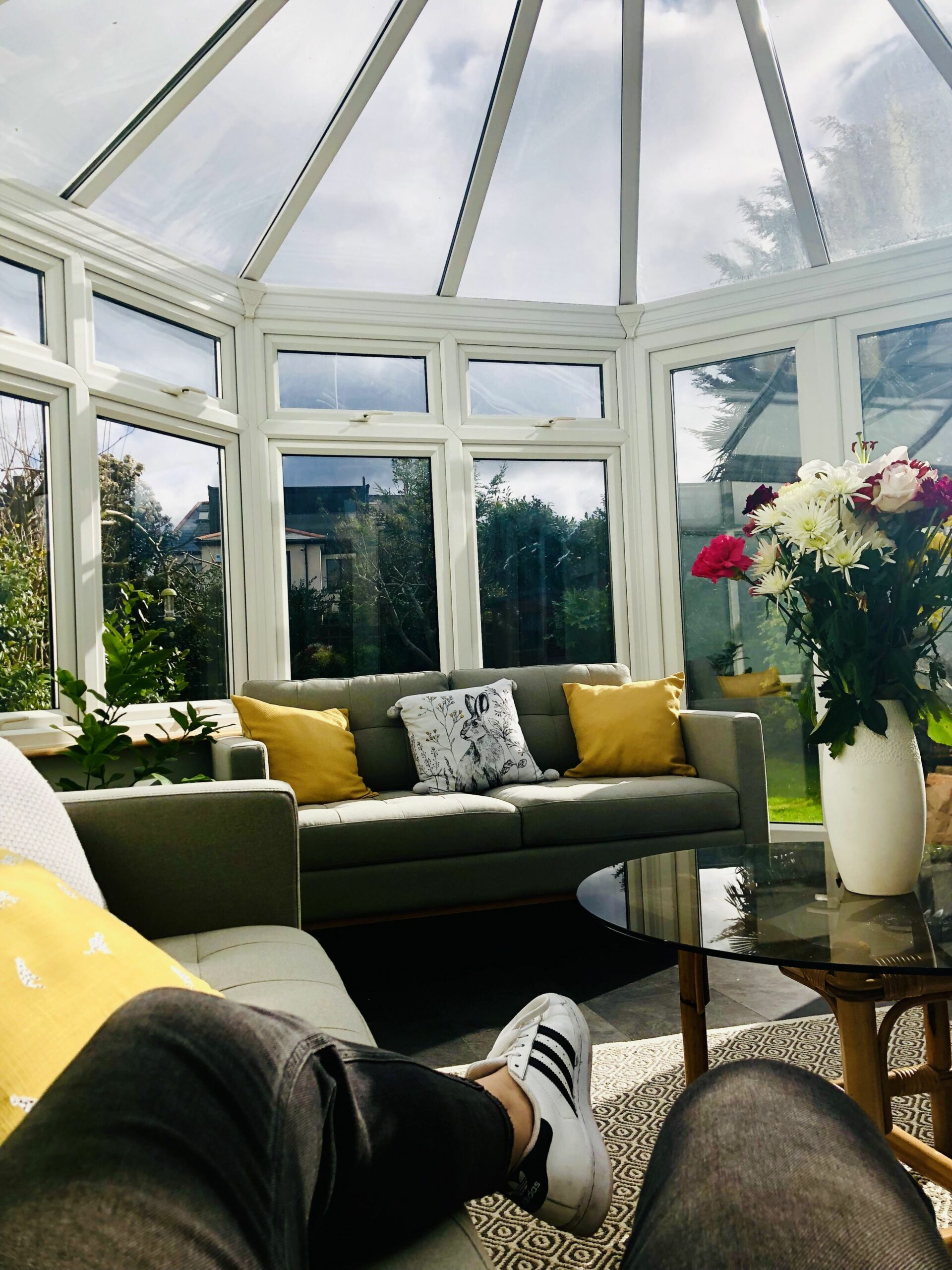 Grey and mustard theme (With images) | Conservatory decor, House ..