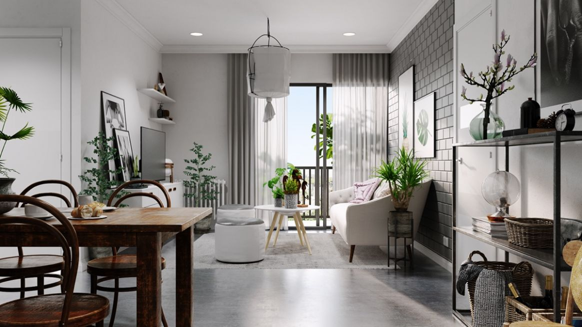 Grey And White Interior Design Inspiration From Scandinavia - dining room ideas grey and white