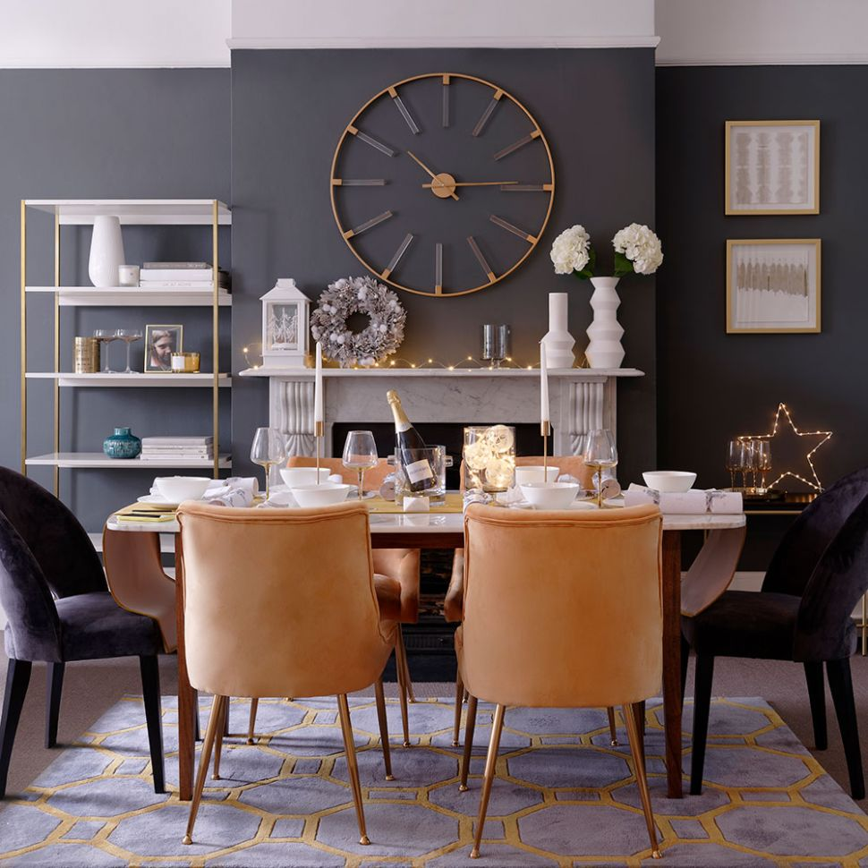 Grey dining room ideas – Grey dining room chairs – Grey dining room - dining room ideas brown